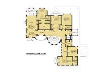 Victorian Floor Plan - Upper Floor Plan Plan #1066-55