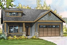 House Design - Craftsman Bungalow with a Bungalow feel, elevation