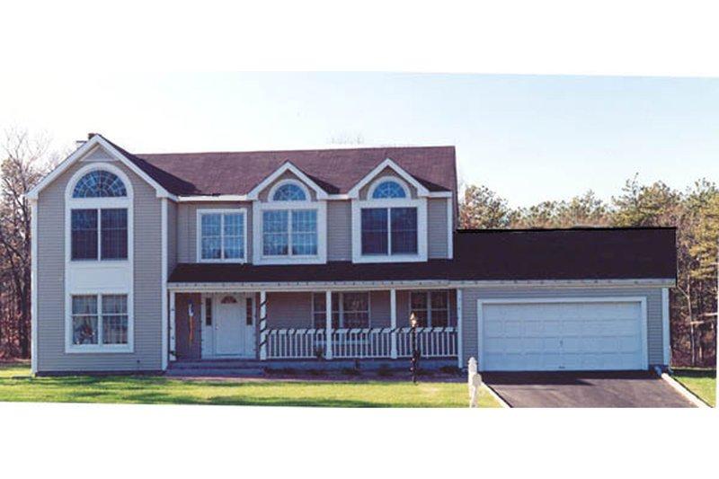 Farmhouse Exterior - Front Elevation Plan #3-208