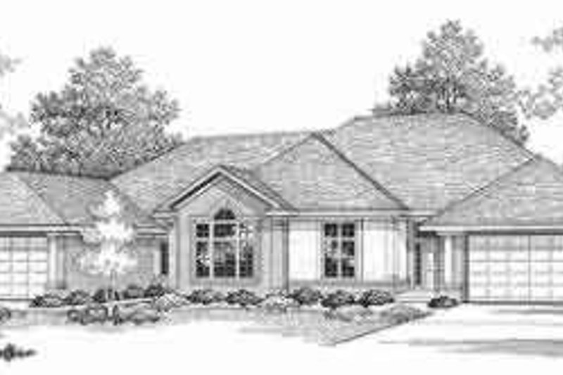 Traditional Exterior - Front Elevation Plan #70-740