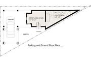 Modern Style House Plan - 1 Beds 1 Baths 983 Sq/Ft Plan #905-2 Floor Plan - Main Floor Plan