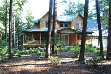 Front View - 2200 square foot Country home