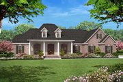 Country Style House Plan - 4 Beds 3.5 Baths 2500 Sq/Ft Plan #430-34