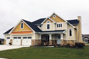 Craftsman Style House Plan - 3 Beds 3 Baths 2815 Sq/Ft Plan #20-2366 Photo