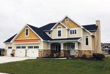 House Plan Design - Craftsman Photo Plan #20-2366
