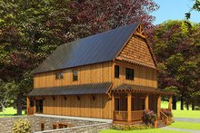 House Plan Design - Craftsman Exterior - Other Elevation Plan #923-163