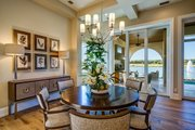Mediterranean Style House Plan - 3 Beds 3 Baths 2779 Sq/Ft Plan #930-480 Interior - Dining Room