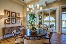 Dream House Plan - Mediterranean Interior - Dining Room Plan #930-480