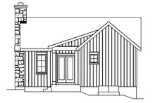 House Design - Cottage Exterior - Rear Elevation Plan #22-572