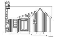 Home Plan - Cottage Exterior - Rear Elevation Plan #22-572