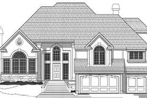 Traditional Exterior - Front Elevation Plan #67-145