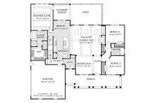 Country Floor Plan - Main Floor Plan Plan #927-17