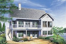 Country Exterior - Front Elevation Plan #23-153