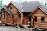 Cottage Style House Plan - 2 Beds 2 Baths 1470 Sq/Ft Plan #118-103 Exterior - Front Elevation