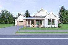 Dream House Plan - Craftsman Exterior - Front Elevation Plan #1070-90
