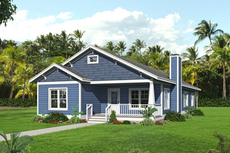 Dream House Plan - Country Exterior - Front Elevation Plan #932-120