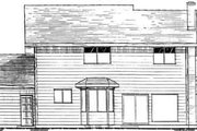 Modern Style House Plan - 3 Beds 2.5 Baths 1964 Sq/Ft Plan #126-112 Exterior - Rear Elevation