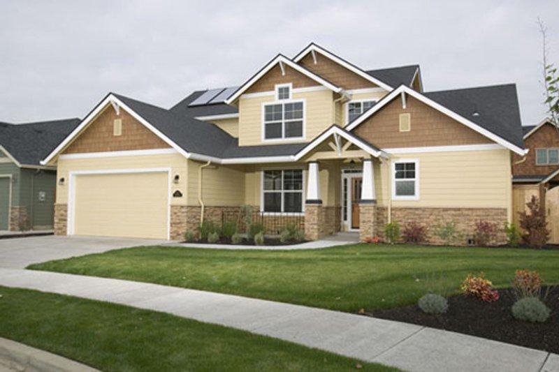 Craftsman Exterior - Front Elevation Plan #124-608