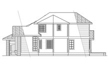 House Plan Design - Ranch Exterior - Other Elevation Plan #124-129