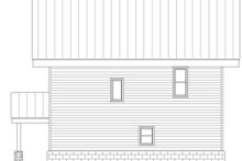 Home Plan - Modern Exterior - Rear Elevation Plan #932-42