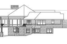 Dream House Plan - Craftsman Exterior - Other Elevation Plan #124-848