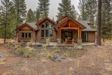 Dream House Plan - Craftsman Exterior - Rear Elevation Plan #892-29