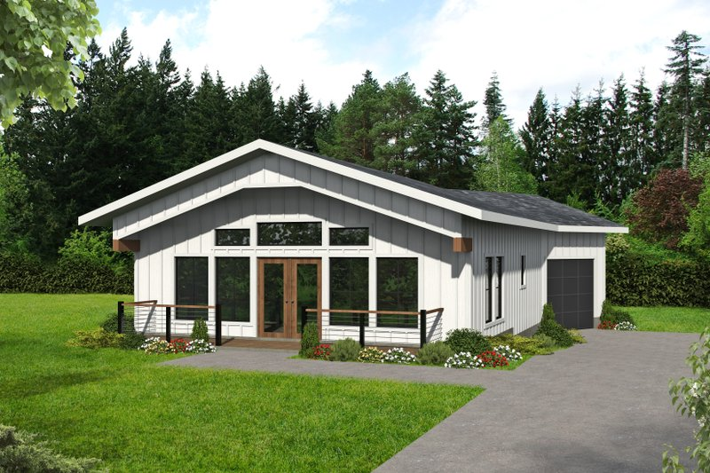 House Plan Design - Farmhouse Exterior - Front Elevation Plan #117-910