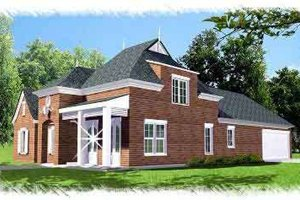 Dream House Plan - European Exterior - Front Elevation Plan #15-290