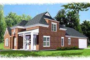 Dream House Plan - European Exterior - Front Elevation Plan #15-290