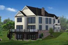 Home Plan - Craftsman Exterior - Rear Elevation Plan #1057-29