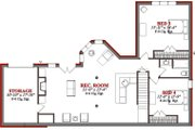 Country Style House Plan - 4 Beds 2.5 Baths 3572 Sq/Ft Plan #63-190 Floor Plan - Lower Floor Plan