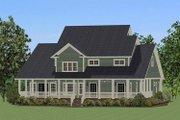 Farmhouse Style House Plan - 4 Beds 3.5 Baths 2715 Sq/Ft Plan #898-20 Exterior - Rear Elevation