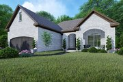 Traditional Style House Plan - 3 Beds 2 Baths 1493 Sq/Ft Plan #923-147 Exterior - Front Elevation