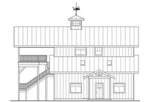 Country Exterior - Other Elevation Plan #124-1052