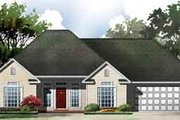 European Style House Plan - 3 Beds 2 Baths 1250 Sq/Ft Plan #21-171 Exterior - Front Elevation