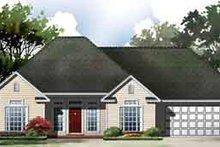 Dream House Plan - European Exterior - Front Elevation Plan #21-171