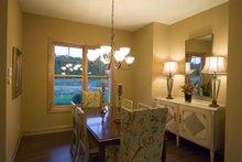 Dream House Plan - Craftsman Interior - Dining Room Plan #56-597