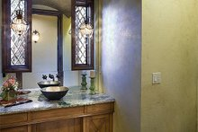 Downstairs Bathroom - 4000 square foot European home