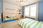 Craftsman Style House Plan - 4 Beds 3.5 Baths 3760 Sq/Ft Plan #80-205 Interior - Bedroom