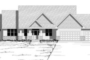 Craftsman Style House Plan - 3 Beds 3.5 Baths 4496 Sq/Ft Plan #51-501 Exterior - Other Elevation