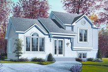 Dream House Plan - Traditional Exterior - Front Elevation Plan #23-704