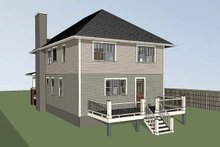 Dream House Plan - Craftsman Exterior - Other Elevation Plan #79-301