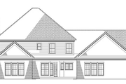 Colonial Style House Plan - 5 Beds 3.5 Baths 3978 Sq/Ft Plan #17-1182 Exterior - Rear Elevation