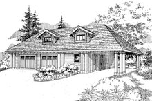 Craftsman Exterior - Front Elevation Plan #124-788