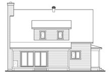 Architectural House Design - Country Exterior - Rear Elevation Plan #23-2670