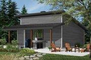 Modern Style House Plan - 0 Beds 0 Baths 576 Sq/Ft Plan #23-2675