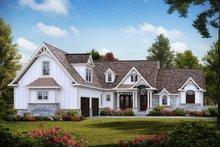 Craftsman Exterior - Front Elevation Plan #54-388