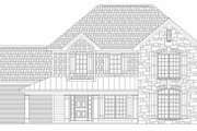 Traditional Style House Plan - 3 Beds 3 Baths 3048 Sq/Ft Plan #329-361 Exterior - Other Elevation