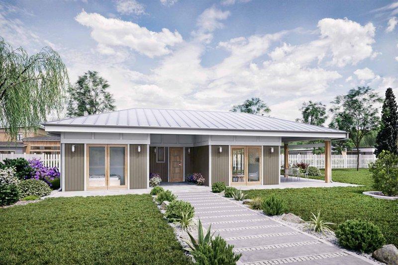 House Plan Design - Ranch Exterior - Front Elevation Plan #924-11