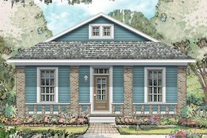 Traditional Exterior - Front Elevation Plan #424-201